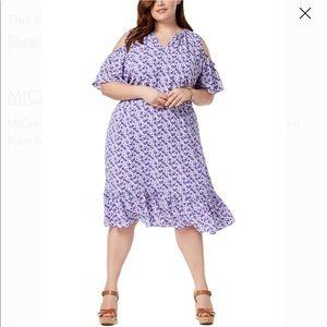 Michael Kors purple flower dress NWT Never worn